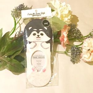 Accessories - NWT Cute Kawaii Dog Sock with Silicone Back